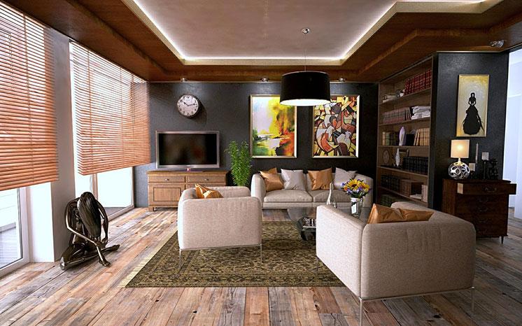come arredare il soggiorno | preventivofacile.it - Soggiorno Urban Chic