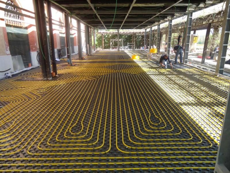 Come pulire dalle alghe l impianto di riscaldamento a pavimento